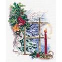 Свет Рождества Набор для вышивания Овен 1358