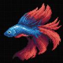 Рыбка красная Алмазная вышивка мозаика BrilliArt МС-057