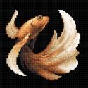 Рыбка золотая Алмазная вышивка мозаика BrilliArt МС-058