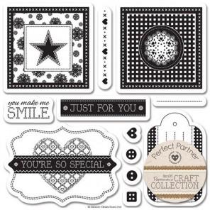 Pastels Craft Collection Набор штампов для скрапбукинга, кардмейкинга Docrafts