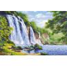 Шум водопада Набор для вышивания Риолис 1908