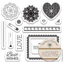 Craft Collection Набор штампов для скрапбукинга, кардмейкинга Docrafts