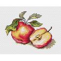Сочные яблочки Набор для вышивания МП Студия М-596
