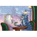 Замурчательное свидание Набор для вышивания МП Студия НВ-738