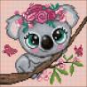 Маленькая коала Алмазная мозаика вышивка Гранни AG2503