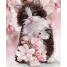 Весенний котенок Ткань с нанесенным рисунком для вышивки бисером Конек 1359