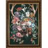 Пример оформления в рамку Природа и звери. Олень Ткань с нанесенным рисунком для вышивки бисером Конек 1377