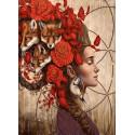 Алиса Ткань с нанесенным рисунком для вышивки бисером Конек 8506