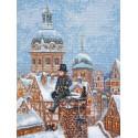 Трубочист по мотивам картины Ф.В.Одельмарка Набор для вышивания Палитра 07.022