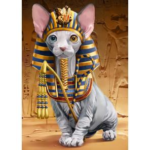 Сфинкс-фараон Алмазная мозаика вышивка Гранни AG2510