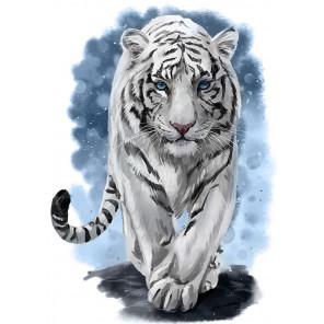 Могучий тигр Алмазная мозаика вышивка Гранни AG2512