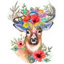 Владыка цветов Алмазная мозаика вышивка Гранни AG2542