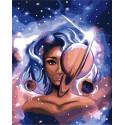 Космические красоты Раскраска картина по номерам на холсте GX38054