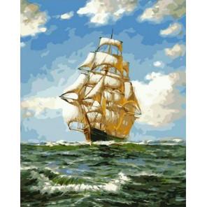 Морское путешествие Раскраска картина по номерам на холсте GX38002