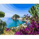 Чудесный берег Раскраска картина по номерам на холсте GX37997