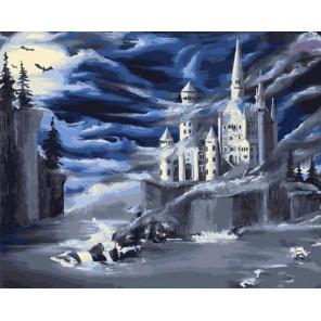 Неизведанный замок Раскраска картина по номерам на холсте GX37990