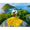 Красоты островов Раскраска картина по номерам на холсте GX37988