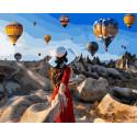 Воздушная невесомость Раскраска картина по номерам на холсте GX37986