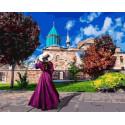 Прогулка по замку Раскраска картина по номерам на холсте GX37983