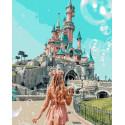 Сказочный замок Раскраска картина по номерам на холсте GX38197