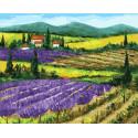 Домик в горах Раскраска картина по номерам на холсте GX38180