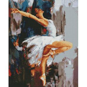 Балерина Алмазная мозаика вышивка на подрамнике GF4669