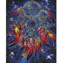 Прекрасный ловец снов Алмазная мозаика вышивка на подрамнике GF4540