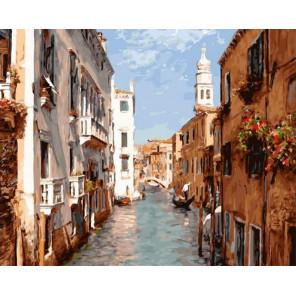 Полдень 40х50 см Раскраска картина по номерам на холсте PK90017