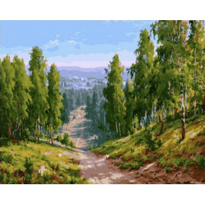 Глубинка 40х50 см Раскраска картина по номерам на холсте PK90004