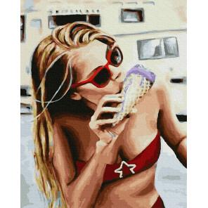 Жара Раскраска картина по номерам на холсте GX38323