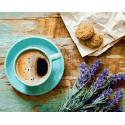 Лавандовый завтрак Раскраска картина по номерам на холсте GX21514