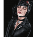 Немного кошка Раскраска картина по номерам на холсте GX38255