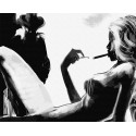 Огонек моей души Раскраска картина по номерам на холсте GX38256