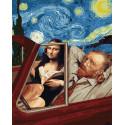 Тур по Лувру Раскраска картина по номерам на холсте GX38299