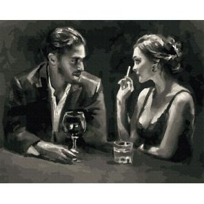 Удачное свидание Раскраска картина по номерам на холсте