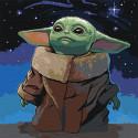 Мечты о звездах/ Сила мысли Раскраска картина по номерам на холсте AAAA-RS065-100x100