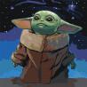 Мечты о звездах/ Сила мысли Раскраска картина по номерам на холсте AAAA-RS065