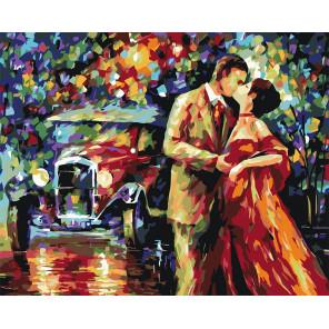Поцелуй Раскраска по номерам акриловыми красками на холсте Живопись по номерам