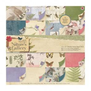 Nature's Gallery Набор бумаги для скрапбукинга, кардмейкинга Docrafts