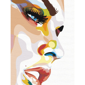 Радужное настроение Раскраска картина по номерам на холсте PA42