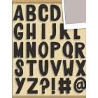 Алфавит Стикеры Smash ( Смэш ) для скрапбукинга K&Company