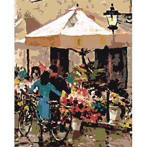 Цветочная палатка Раскраска картина по номерам на холсте BH16