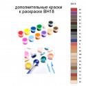 Дополнительные краски для раскраски BH18