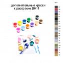 Дополнительные краски для раскраски BH11