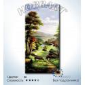 Тропой из леса Раскраска по номерам на холсте без подрамника Hobbart DH4080009-LITE