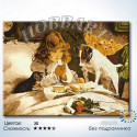 Перед завтраком Раскраска по номерам на холсте без подрамника Hobbart DH6080019-LITE