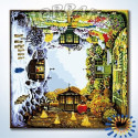 Времена года Раскраска по номерам на холсте Hobbart DZ4040006-LITE