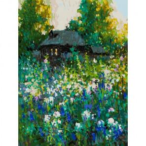 Сложность и количество цветов Домик Раскраска картина по номерам на холсте 374-AS