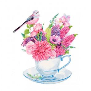 Сложность и количество цветов Очаровательные люпины Раскраска картина по номерам на холсте 382-AS