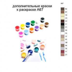 Дополнительные краски для раскраски A67